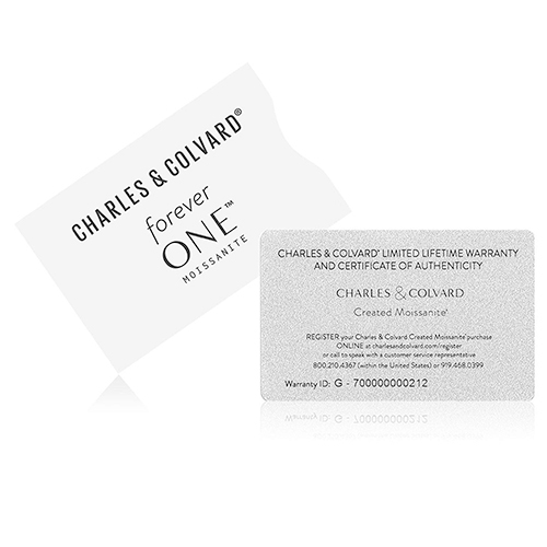Charles & Colvard recommends that you retain your warranty card and purchase invoice.
